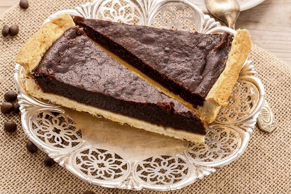 crostata vegana cioccolato