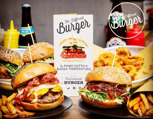 different burger milano
