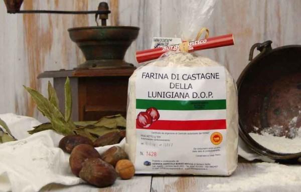 farina di castagne lunigiana