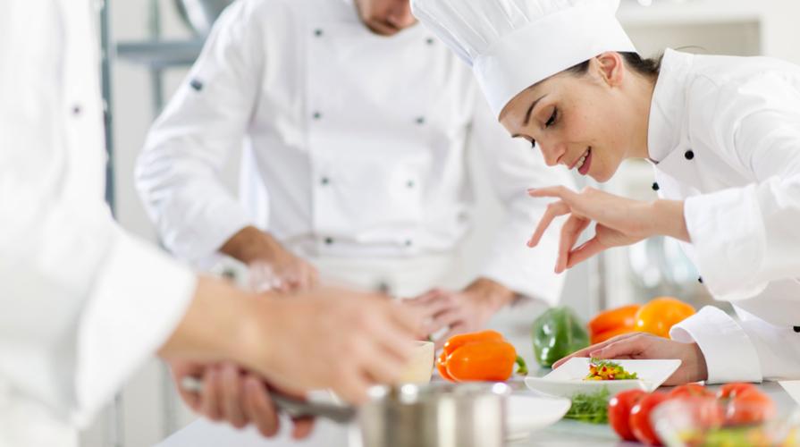 giornata lavorativa di un cuoco