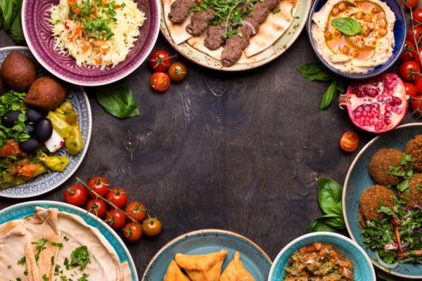 ingredienti cucina mediorientale