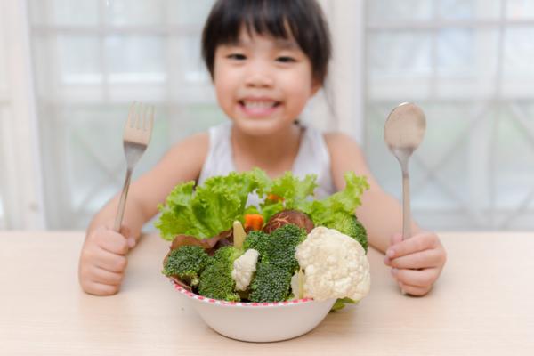 mangiare sano bambini