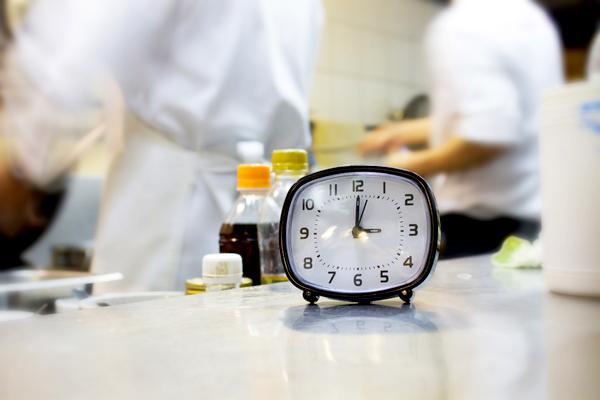 orario di lavoro cuoco