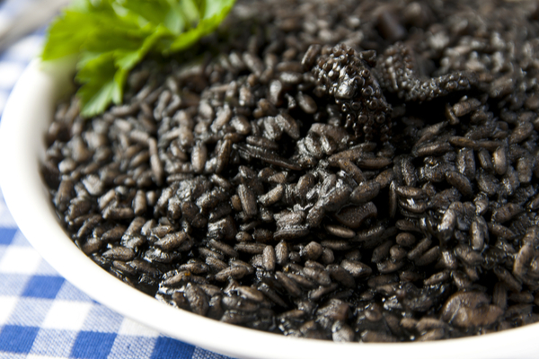 risotto nero di seppia