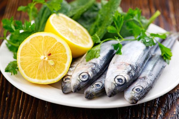 sardine fresche