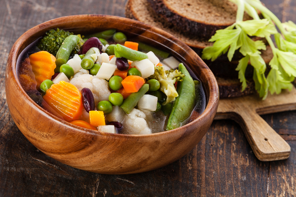 zuppa verdure brodo