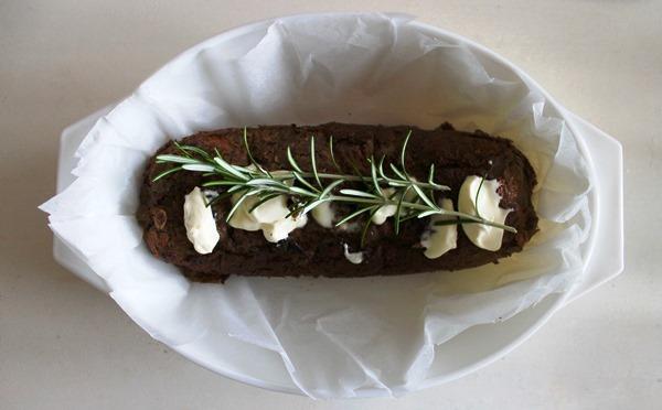 arrosto vegetariano pronto per cuocere