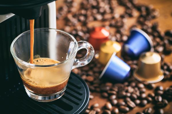 espresso capsule caffè
