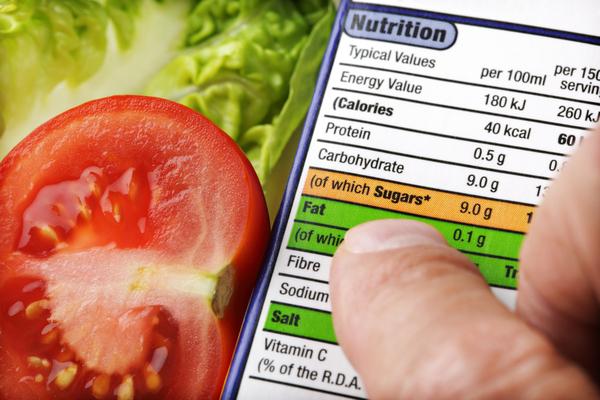 etichetta nutrizionale pomodoro