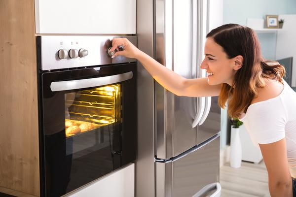 regolare temperatura forno
