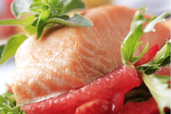salmone pompelmo