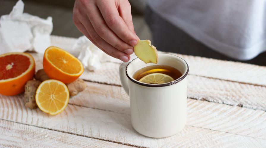tisana mela carota e zenzero
