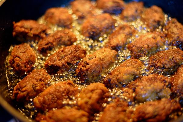 verdure fritte olio