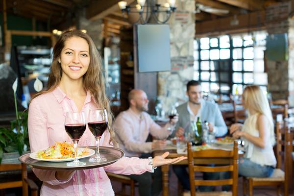 cameriera ristorante