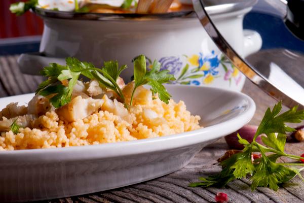 ricetta cous cous con cernia