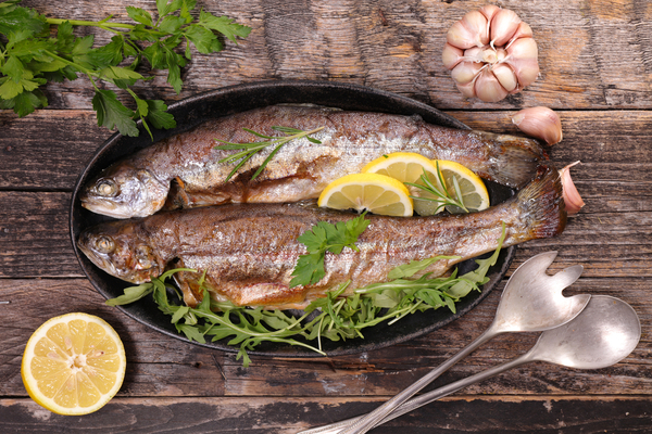 cottura pesci acqua dolce