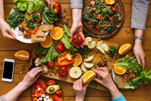 tavola vegana