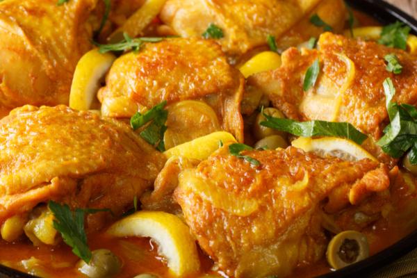ricetta pollo al cedro