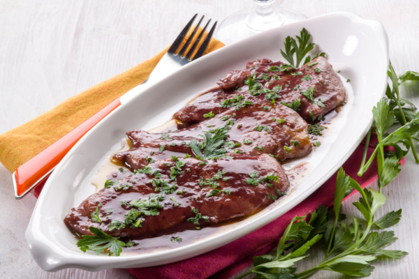 scaloppine balsamico