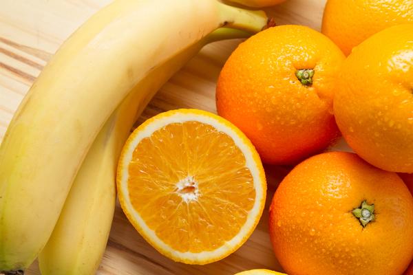 banane e arance