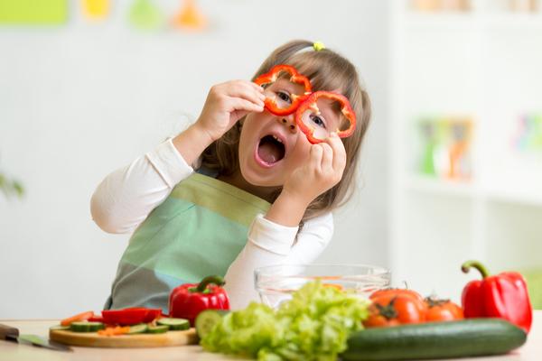 dieta sana bambini