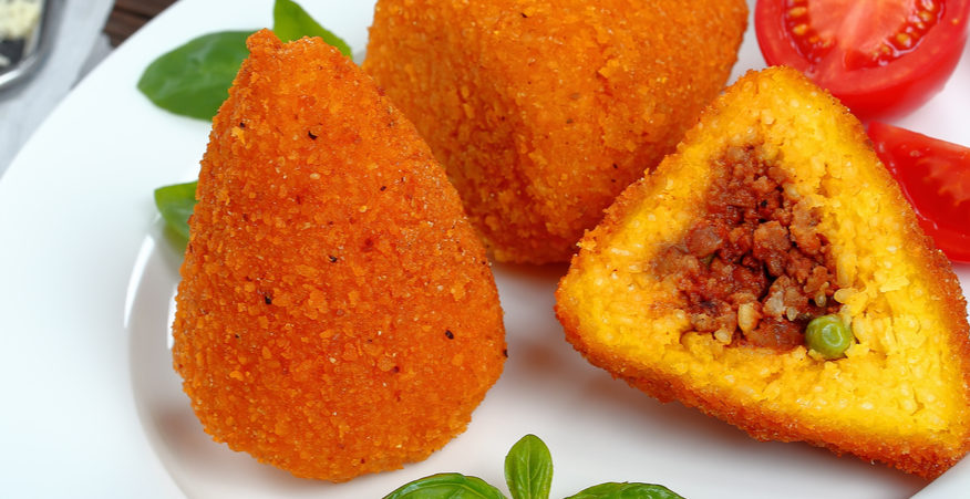 ricetta arancine