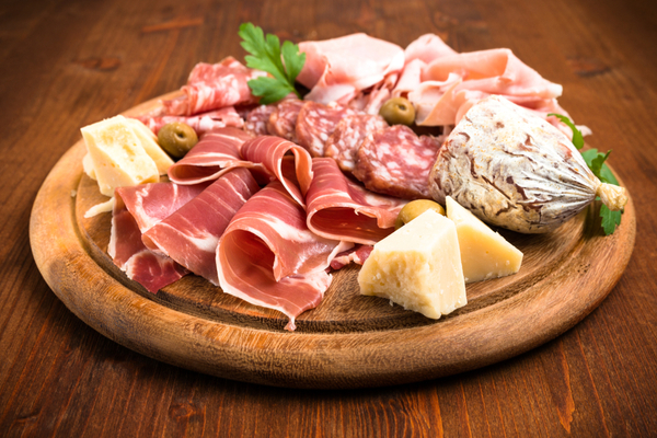 salumi e formaggi italiani