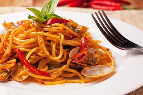 spaghetti vongole salsa