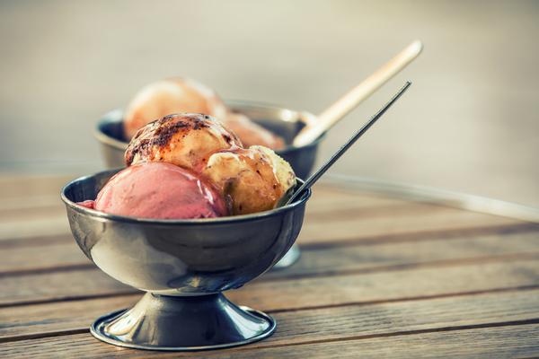 mangiare gelato artigianale a roma