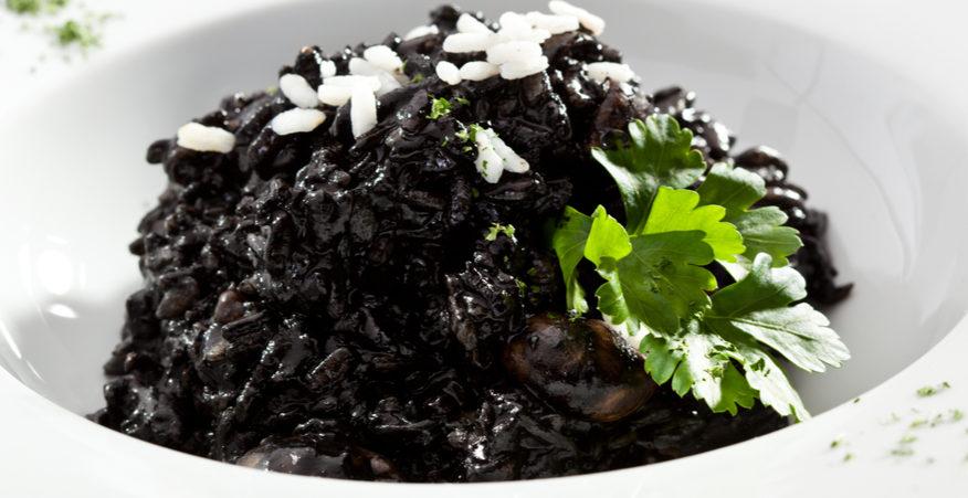 riso nero broccoli