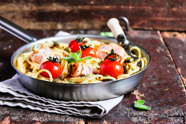 spaghetti con ventresca