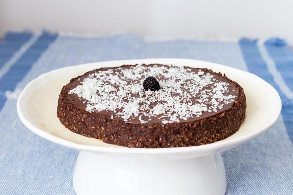 torta al cioccolato crudista
