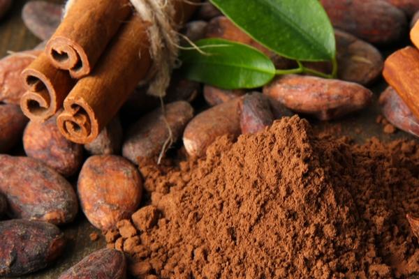 cacao e cannella