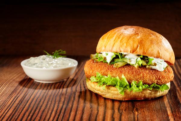 fishburger ricetta