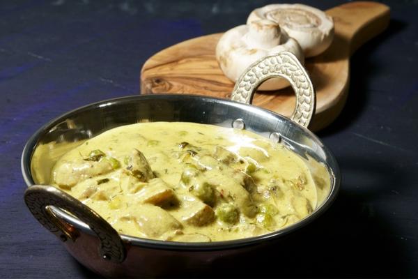funghi al curry