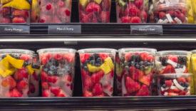 Frutta in vaschetta