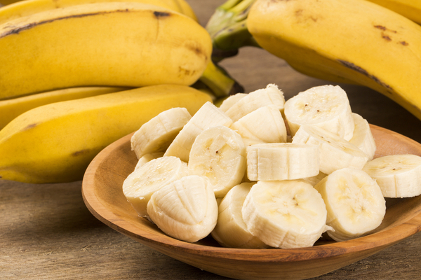 sostituire il burro con le banane