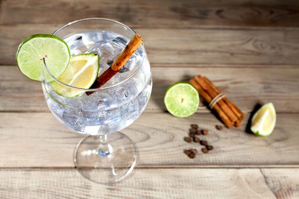 ballon bicchiere gin