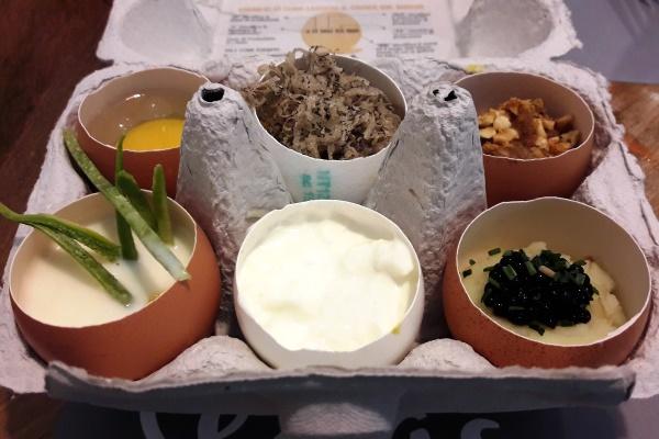 uova eggs roma