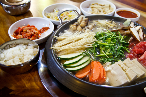 cibo coreano
