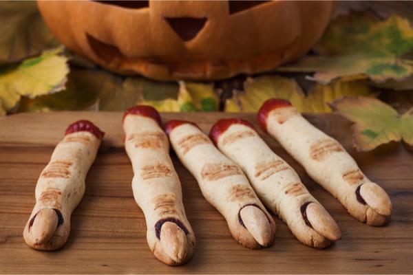 dita croccanti di halloween