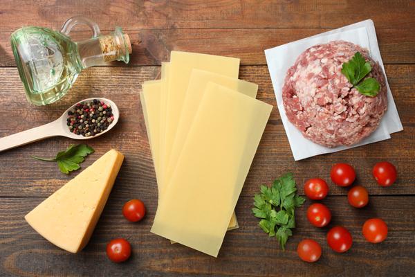 ingredienti lasagne