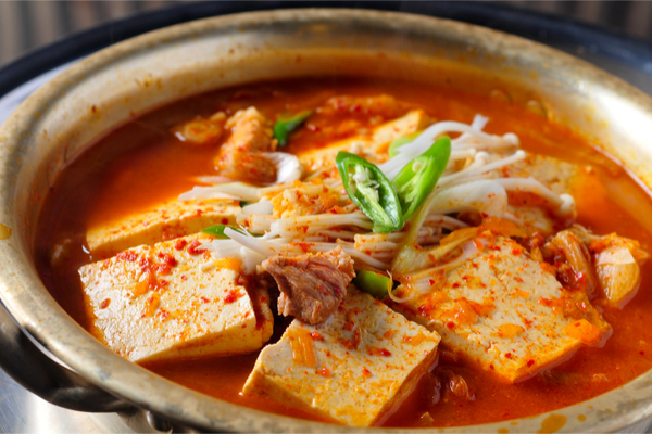 kimchi jjigae ricetta