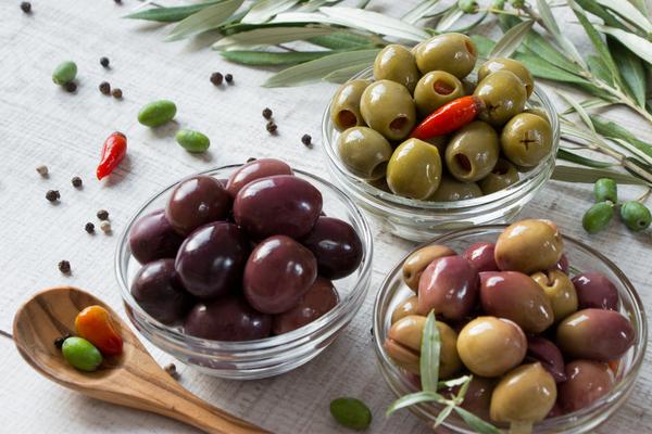 tipi di olive nere