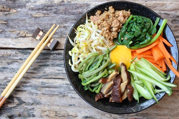 verdure cucina coreana