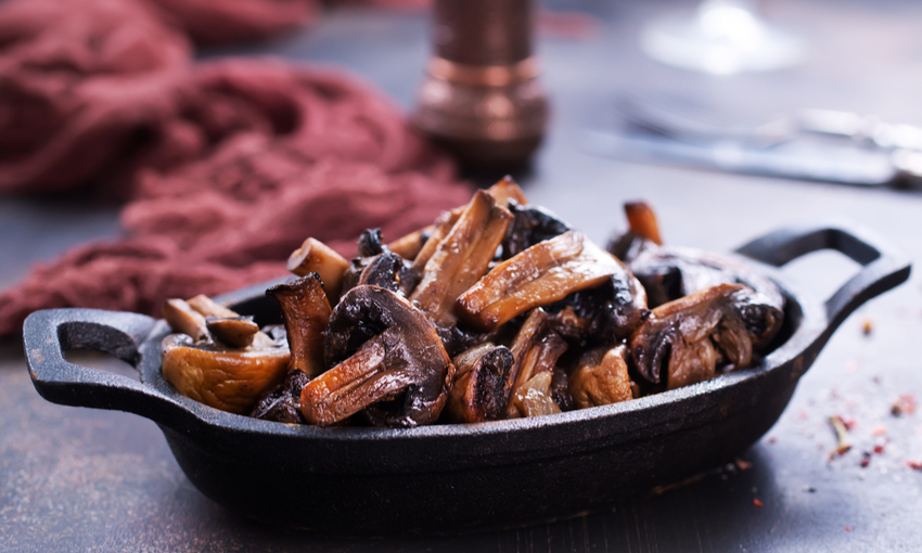 funghi in salsa agrodolce