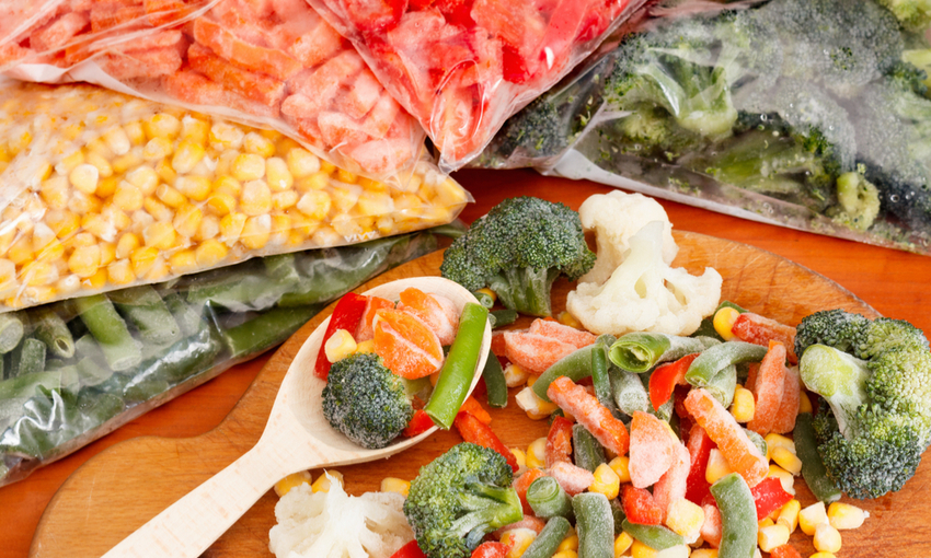 clorato verdure surgelate