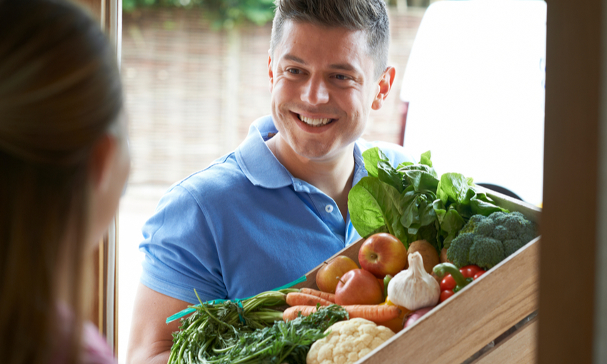 consegna verdura domicilio