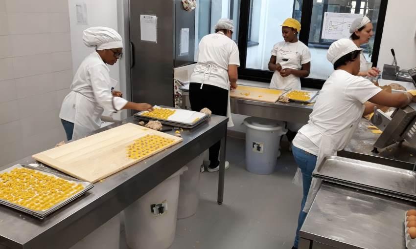 laboratorio pasta fresca
