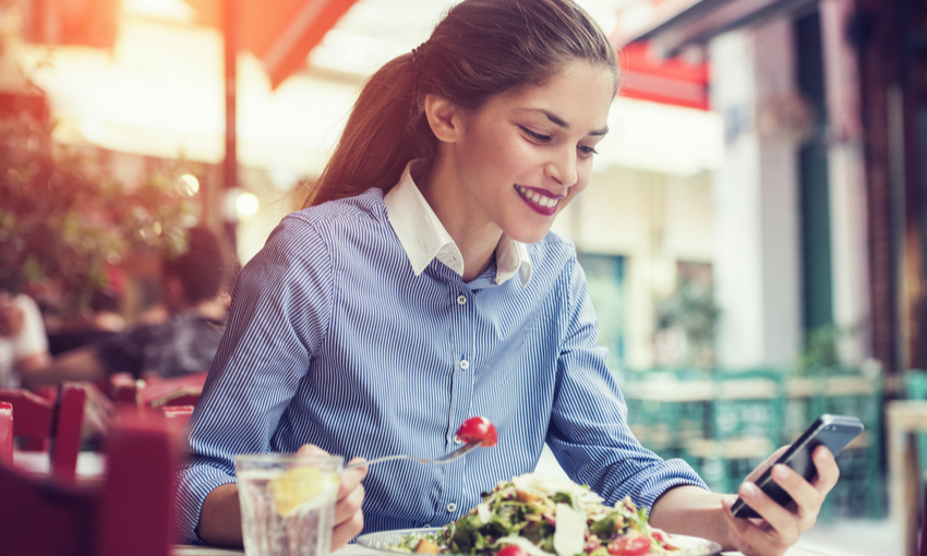 sondaggio pausa pranzo italiani